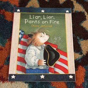 Book - Liar, Liar, Pants on Fire